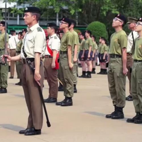香港少年領袖團大匯操 Rehearsal part 2