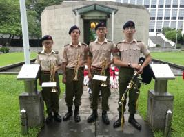 HKAC Band in Remembrance Day service